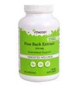 VITACOST 松樹皮粹取物 --100mg *300顆 - 含95 % OPC