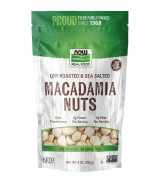 NOW Foods  乾烤夏威夷堅果  海鹽味 * 9 Oz(255克)  - Macadamia Nuts
