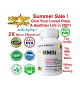 NMN   β-煙酰胺單核苷酸 白藜蘆醇 *60顆 - β-Nicotinamide
