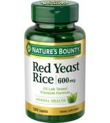 Nature's Bounty  紅麴素 *120顆 - Red Yeast Rice