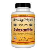 只有1瓶** 效期至2022/03月**Healthy Origins 天然蝦青素  蝦紅素  4 mg* 150粒 -   Astaxanthin