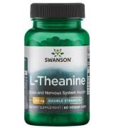 swanson 茶胺酸 200mg *60顆 - L-Theanine 茶氨酸