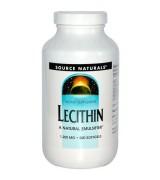 Source Naturals   天然卵磷脂  1200 mg*200粒  - Lecithin