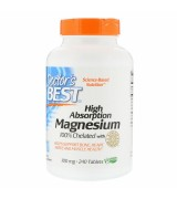 Doctor's Best 高吸收型  螯合鎂  *240錠 - High Absorption Magnesium 100% Chelated