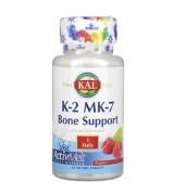 KAL 維生素K-2 MK-7 *60小片(樹莓味) 甲萘醌-7