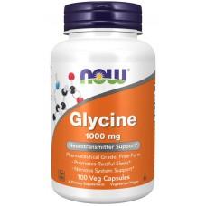NOW Foods  甘氨酸 1000 mg  * 100顆素食膠囊 - Glycine