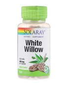 SOLARAY  白柳皮  400mg *100顆素食膠囊 - White Willow