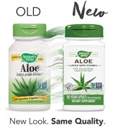 Nature's Way  蘆薈  140mg*100顆素食膠囊 - Aloe