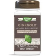 Nature's Way  專利銀杏葉萃取  60mg*150錠  -  Ginkgold Clinical Ginkgo Extract