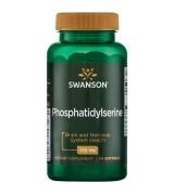 Swanson 大豆粹取磷脂醯絲胺酸 - 腦磷脂 PS - (100mg* 90粒 )