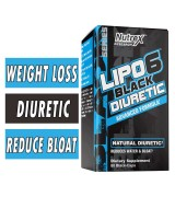 Nutrex Research LIPO 6  水平衡    *80顆黑膠囊 - LIPO-6 Black Diuretic 消水腫