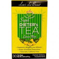 美國 Natrol Laci Le Beau 蕾喜茶   30包*2=60包 - 檸檬薄荷味