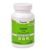 Vitacost  Lutein  葉黃素+玉米黃質素  40mg*60粒   金盞花萃取
