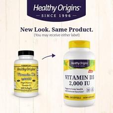 Healthy Origins   維生素D3  -- 2000 IU* 360粒 - Vitamin D3