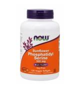 NOW Foods 向日葵粹取 腦磷脂 PS 100 mg *120 粒素食膠囊