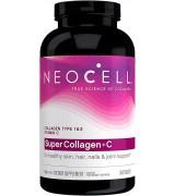 Neocell Super Collagen 水解膠原蛋白+維生素C ~第一及第三型 * 360錠 *大瓶裝*