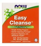 NOW Foods   美顏美體排毒寶  (日用 *60顆+夜用*60顆 = 2瓶裝) - 輕鬆排毒不間斷Easy Cleanse, 2 Bottles