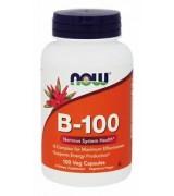 NOW Foods  維他命B-100 (維生素B群)  (100 mg* 100顆)