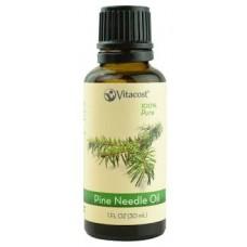 Vitacost 100%純 松針 精油 * 1 fl oz (30 mL) - 100% Pure Pine Needle Oils