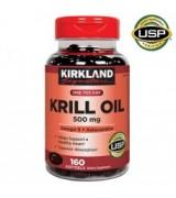 ** 效期至2021/11月**Kirkland 特強南極磷蝦油 500 mg Krill Oil   *160粒