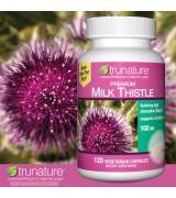 Trunature 高效保肝奶薊草 - 160mg* 120顆素食膠囊 Milk Thistle 牛奶薊