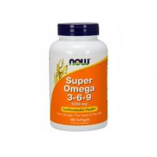 NOW Foods   超級 omega 369 - 1200 mg*180粒- 含:亞麻籽油、琉璃苣油、魚油 Super Omega 3-6-9