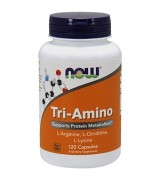 NOW Foods  三氨基酸  * 120顆 - Tri-Amino  L-精氨酸+L-鳥氨酸+L-賴氨酸