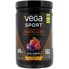 Vega Sport 鍛煉前勁量平衡巴西莓 *16.2盎司- Sport, Premium Energizer, Acai Berry 提高耐力