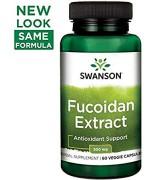 **目前原廠提供最新效期為2021/12月 **swanson 強力褐藻糖膠 (500mg* 60粒)