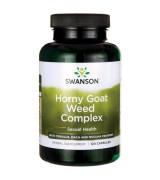 swanson 淫羊藿複方  (120顆) - Horny Goat Weed Complex