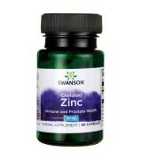 Swanson   螯合鋅 (30mg* 90顆 ) - Albion Chelated Zinc Glycinate