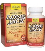 ** 效期至2021/09月**Natural Balance  強力東哥阿里200mg*60顆 - Long Jack, PowerMax 200