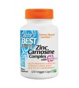 Doctor's Best   護胃膠囊 120顆素食膠囊 - PepZin GI  Zinc-L-Carnosine Complex 肌肽鋅