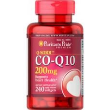 Puritan's Pride 高效用輔酵素 Q-SORB  CO Q10 輔酶  200mg*240粒 - COQ10