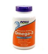 NOW Foods  天然深海魚油 Omega-3 ( EPA 180mg / DHA 120mg) * 200 粒