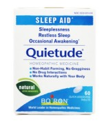Boiron 法國布瓦宏  天然活性成分助眠  * 60速溶片 - 適用: 失眠  睡眠不安  易醒 Quietude®  Sleep Aid
