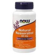 NOW Foods   天然白藜蘆醇 *60顆素食膠囊 - Natural Resveratrol