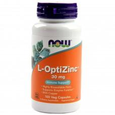 Now Foods  高效能鋅 L-OptiZinc (30mg *100顆)