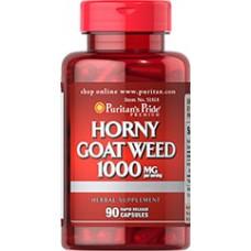 Puritan's Pride 淫羊藿  1000 mg*90顆 -  Horny Goat Weed