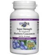 Natural Factors 36倍濃縮藍莓2.5% 花青素 500mg* 90粒- Blue Rich