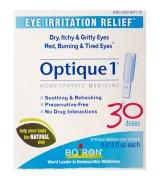 Boiron Optique 1® 法國布瓦宏  緩解眼睛不適 * 30管 - Eye Irritation Relief 順勢療法 緩解眼睛疲勞或刺激物 乾燥 發癢 灼熱或疲倦