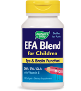 Nature's Way   EFA 兒童聰明配方 DHA   445mg *120粒 -  EFA / DHA / GLA - Blend, for Children
