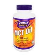 ** 效期至2021/07月** NOW Foods    中鏈油 中鏈脂肪酸  1000 mg*150 粒 - MCT Oil