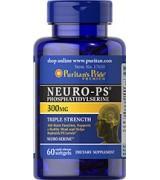 Puritan's Pride  腦磷脂  PS  300mg*60粒 - Neuro-Ps (Phosphatidylserine) 磷脂酰絲氨酸