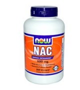 NOW Foods  NAC  600 mg* 250顆素食膠囊 - 乙醯半胱氨酸