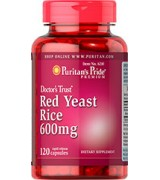 Puritan's Pride   紅麴  600mg*120顆 - Red Yeast Rice