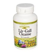 Natural Factors  肝膽淨化排毒複方  *90顆 - 含朝鮮薊 Liv-Gall Cleanse