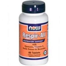NOW Foods   抗過敏複方  *60錠 - Respir-All