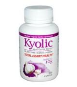 Wakunaga - Kyolic  心臟健康營養   含: 有機無臭大蒜  *100顆 -  穩定血壓 Total Heart Health