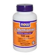 NOW Foods  左旋 - 蛋氨酸  500 mg*100顆 - L-Methionine